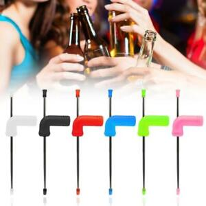 Beer Snorkel Funnel Drinking Straw Entertainment Bar Party Games BEST5U6R 8Y5T
