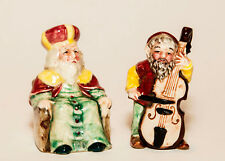 Old King Cole Salt & Pepper Shakers