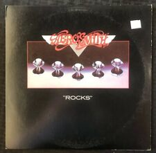 AEROSMITH Rocks 1976 Album LP Columbia PC 34165 - EX+/NM- Vinyl Steven Tyler