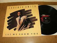 LORENZO SMITH : LET ME SHOW YOU - USA LP 1990 - ALPHA INTERNATIONAL D170953