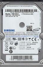 Samsung 1TB SATA 2.5 Hard Drive, HM100UI, HM100UI/UZ4, FW 2AM10001