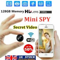 Mini Spy Camera Wireless Wifi IP Home Security HD 1080P DVR Night Vision Remote!