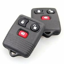 2x Keyless Entry Remote Control Key Fob Clicker Transmitter Replacement For Ford