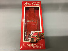 Coca Cola Glitter Bottle Opener Holidays Are Coming Christmas Truck TV Advert
