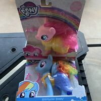 My Little Pony Rainbow Dash AND Pinkie Pie TWO 6 inch Ponies