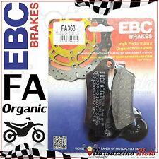 PASTIGLIE FRENO POSTERIORE EBC ORGANIC FA363 BMW R 1100 R 1995-2001