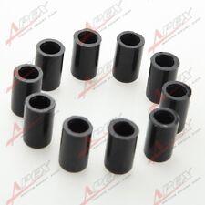 "10PCS 19mm 3/4"" Silicone Blanking Cap Intake Vacuum Hose End Bung Plug Black"