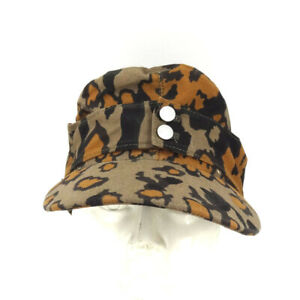 WWII German Elite Army M43 Autumn Oakleaf Camouflage Cotton Cap Hat Size EU 58