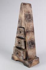 50 cm Pyramidenschrank Kommode Sideboard Schrank Schubladen