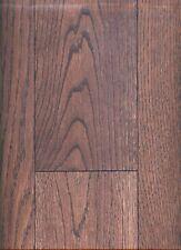 "Oak Engineered Brushed Hardwood Flooring 5"" Dark Charocal Color"