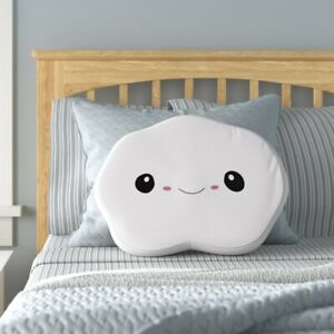 MY KU MO CLOUD PILLOW WHITE NEW WITH TAGS