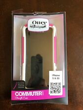 Otterbox iphone 5 & 5s PINK Strength Case Commuter Series Avon Breast Cancer