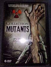 """Coffret 6 DVD """"Collection Mutants"""" sous cellophane"""