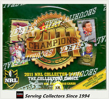 Select 2011 NRL CHAMPIONS TRADING CARD FACTORY SEALED BOX (36 PACKS)