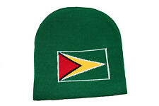 GUYANA GREEN COUNTRY FLAG  TOQUE HAT  .. NEW