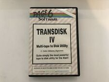 Transdisk IV Tape to Disk Conversion for Atari