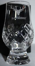 DALMORE LOGO GLENCAIRN CUT CRYSTAL SCOTCH MALT WHISKY TASTING GLASS
