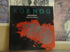 KORNOG PREMIERE, MUSIC OF BRITTANY - LP GREEN LINNET SIF 1055