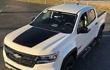 2015-2020 Chevrolet Colorado HOOD GRAPHIC BLACKOUT - MATTE BLACK