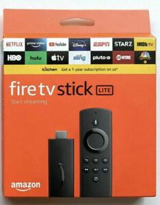 Amazon#@ Fire TV Stick Lite w/ Alexa Voice Remote HD streaming | 2020 release |N