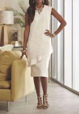 size XLarge Regina Ponte Dress winter white by Ashro new