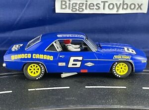~Auction 28 of 29 Used 1/32 Scalextric Chevrolet Camaro 1969 No.6 Sunoco C3650