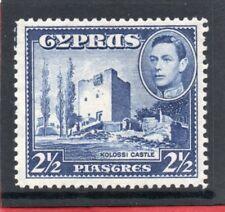 Cyprus GV1 1938-51 2.1/2pi. ultramarine sg 156 H.Mint