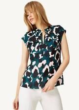 Damsel in a Dress - Mutli-Coloured Lola Camo Print Blouse - Size 10