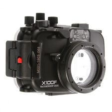 For Fujifilm X100F Camera 40M Underwater Waterproof Housing Case Cover Shell Bag