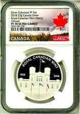 2018 Canada 23g Silver Proof Royal Canadian Mint Ottawa NGC PF70 Ultra Cameo