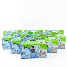 Fujifilm Quick Snap New Waterproof Disposable Camera 35mm Quicksnap Lot Of 6!