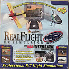 Real Flight R/C Pro Simulator by Great Planes G2 with USB Interlink Controller