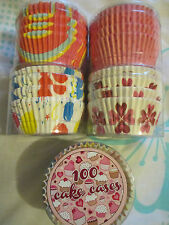 100 PINK SPOTS design Cup Cake Cases