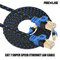 Super Speed Network Cord Ethernet Cable RJ45 CAT7 LAN Wire For Laptop PC Router