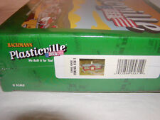 Bachmann 45611 Plasticville Kit School House w Playground Equipment O 027 Mib