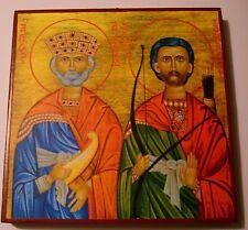 Saint David and Jonathan ICON ICON DAVE Dawid Icone Icono Ikon Icons Icoon