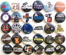 ARCTIC MONKEYS Humbug Suck It and See Brianstorm Pins Button Badges Lot of 30