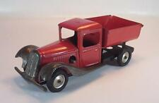 Tanto vecchio quanto sporco Tin Toy Latta Made in France CITROEN??? Kipper camion con movimento dell'orologio #1443