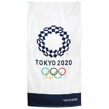 Tokyo 2020 Olympic Sports Game Emblem Bath Towel JOC Official Licensed Goods