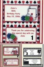 10 Birthday Hershey Candy Bar Wrappers. Your choice of wrapper. Free Shipping