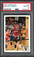 1991 Upper Deck #44 Michael Jordan PSA 10 GEM MINT