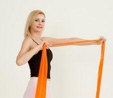 LIGHT ORANGE BAND Yoga Resistance Pilates Barre Crossfit Stretch Therapy Rehab