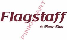 Flagstaff RV sticker decal graphics trailer camper rv Small made in the USA