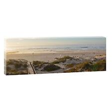Algarve Bild Meer Keilrahmen Leinwand  Poster Modern Design XXL 120cm*40cm 478