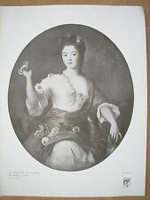 VINTAGE 1916 stampa-la Duchesse de Modene da Pierre GOBERT