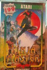 Ninja Master (Firebird 1987) Atari 800XL / 130XE Cassette (Tape, Box Manual)
