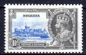 Nigeria Silver Jublee item [spot] 1935 MLH  KGV [N310821]