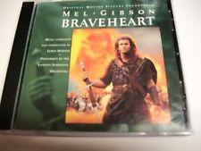 Braveheart Motion Picture Soundtrack CD James Horner Mel Gibson