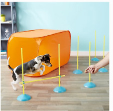 OUTWARD HOUND ZIP ZOOM AGILITY KIT INDOOR EXERCISE FUN FOR DOGS