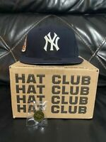 Hatclub Exclusive New York Yankees navy blue icy uv size  7 1/2